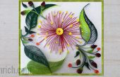 Wandbehang mit Quilling Kunst machen Quilling Wand Dekoration Idee: How To