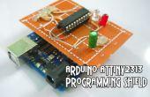 Arduino ATtiny2313 programmieren Schild