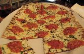 Margarita gegrillte Pizza