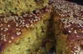 Würziger Reis-Linsen-Kuchen