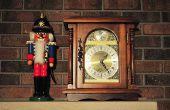 Einstellen der Uhrzeit auf einem Uhrwerk Hermle Quarz 1217