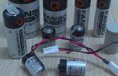 3.6V AA ER14505 Größe nicht wiederaufladbare Lithium-Batterie (Li-SOCl2)