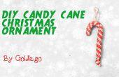 DIY-Candy Cane Christmas Ornament
