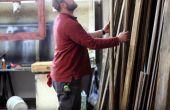 Benutzerdefinierte zurückgefordert Holz Zeichen