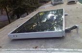 Solare Wasser-Heizung