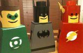 LEGO Mann Kostüm für Kinder