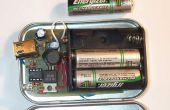 """Modus Altoids iPOD Ladegerät mit 3 """"AA"""" Batterien wechseln"""