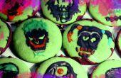 Suicide Squad Schokolade Minze Schädel Cookies
