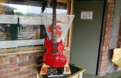 """Die """"Jam Stand"""": Eine tragbare, benutzerdefinierte Gitarre Verstärker & Stand"""