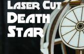 Laser schneiden Todesstern