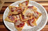 Pizza Nachos | Schnelles Abendessen oder Snack