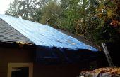 Asphalt Kies Ersatz, stoppen die Dach ist undicht!