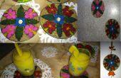 Leicht zu CD als Untersetzer, Wandbehang und Kühlschrankmagneten recyceln -