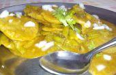 Cluster-Bohnen / Gavarfali Dhokli mit Weizen Mehl Knödel-DIY indischen Rezept