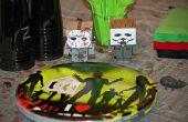 Zombie / Horror-Film unter dem Motto Geburtstagsparty Spiele