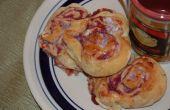 Cranberry Herz Frühstücksbrötchen