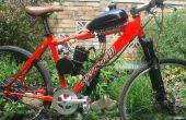 80ccm 2-Takt motorisiertes Fahrrad kit meine Notizen