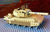 Machen Sie eine LEGO-Abrams-Panzer