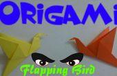 Origami Vogel - einfache Tutorial flattern