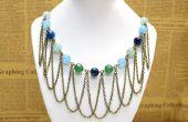 DIY-Chic Bead und Kette Halskette Franse