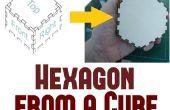 Wie erstelle ich eine sechseckige Schachtel aus Quader plant