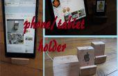 Paletten-Block-Telefon/Tablet-Halterung