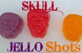 Schädel Jello Shots