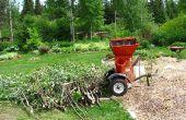 Herstellung und Verwendung von ramial gesäumt Holz RCW, Bio Mulch, Mulchen, reichen Boden, Holz-Chips.