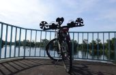 Die Fahrrad-Seifenblasenmaschine