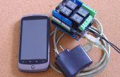Android gesteuert, Licht und Kraft, PfodDevice für Arduino
