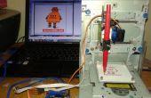 Zeichnung Instructables Roboter von Mini CNC - Arduino - L293D Schild