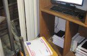 Sitz/Stuhl Kissen gemacht von USPS Priority Mail gepolstert Flat Rate Umschläge