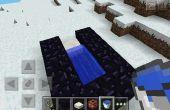 Wie erstelle ich eine tnt-Kanone in Minecraft Pe!
