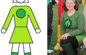 Praktische Superhelden-Kostüm