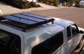 DIY-Dachträger für Sonnenkollektoren installieren