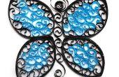 Flatternden Schmetterling Papier