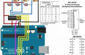 Analog Multiplexer Demultiplexer MC14051B grundlegende Energieversorgers