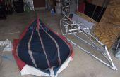Irrungen und Wirrungen: faltbare Bootsbau mit PVC-