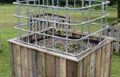 Bauen eine große selbst Bewässerung Garten & Gewächshaus aus wiederverwendeten Materialien