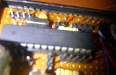 Laser-Sicherheitssystem mit atmega8 zu bauen (Arduino)