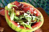 Gegrillter Wassermelone Salat mit Kerbel