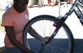 Wie man eine Reifenpanne auf dem Fahrrad Flicken
