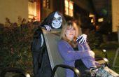 Handgemachte kultigen Skull Maske Tod Kostüm für Halloween