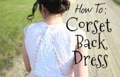 Fügen Sie ein Korsett wieder Ihr Kleid (Gelübde Erneuerung EDITION!)