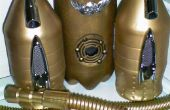 Steampunk Sky Raider Jetpack mit MP3, LEDs & Nebelmaschine