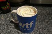 Super einfach 5 Min Hot Chocolate mit echter Schokolade gemacht