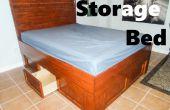 Lagerung-Bett: Reclaiming den ungenutzten Speicherplatz! (Kapitäne Bett)