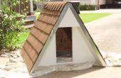 Bauen Sie eine isolierte Hundehütte a-Frame für unter $75