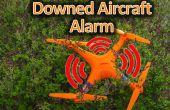 Abgestürzten Flugzeug Alarm