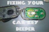 Befestigen Ihren Autoschlüssel